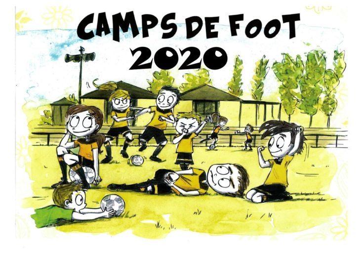camp de foot 2020